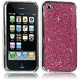 Seluxion - Housse Etui Coque Rigide pour Apple iPhone 3G/3GS Style Paillette Couleur Rose