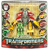 Overseas Limited Edition Transformers Revenge of the Fallen Transformers Movie EZ Collection DX Devastator set of 7 (japan import)