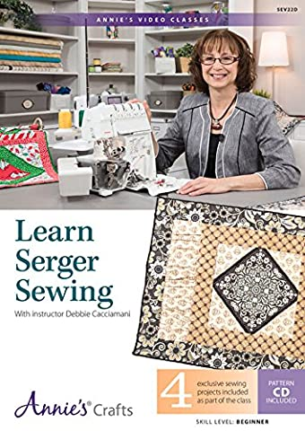 Learn Serger Sewing Class: 4 Exclusive Sewing Projects Included As Part of the Class