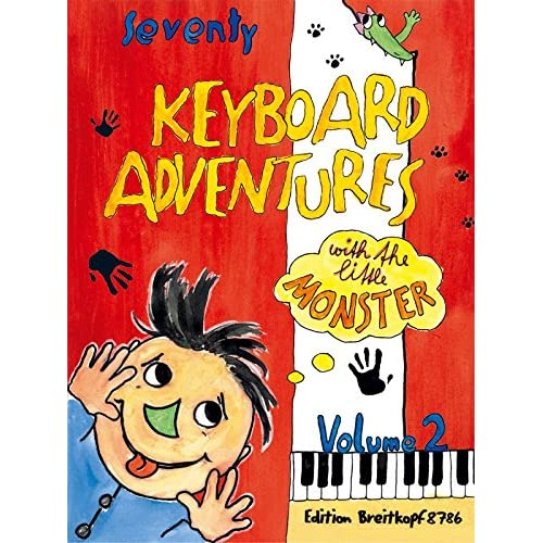 70 Keyboard Adventures With the Little Monster (2) Clavier