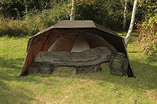 Nash Scope OPS Brolly T3715 Zelt Schirmzelt Schirm Angelschirm Tent Umbrella