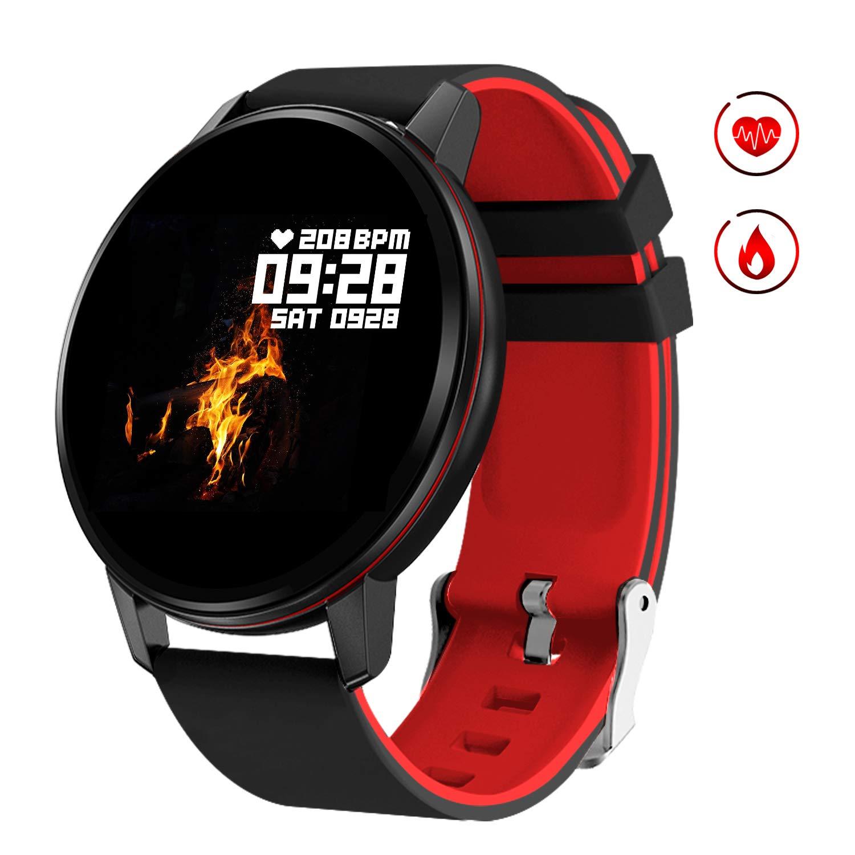 GOKOO Smartwatch Mujer Reloj Inteligente Deporte Monitores de Actividad IP67 Impermeable Fitness Tracker con Monitor de… 1