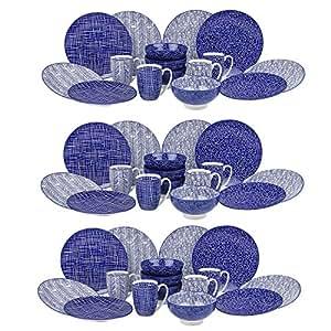vancasso takaki porzellan geschirrset 48 tlg set rund tafelservice f r 12 personen. Black Bedroom Furniture Sets. Home Design Ideas