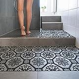 15 pezzi 20x20 cm - PP00012 Decorazione adesiva in PVC per pavimenti su materiale calpestabile - Stickers design - Marsiglia