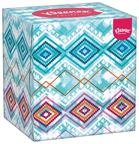 Kleenex Collection Cube Tissues - Box of 1