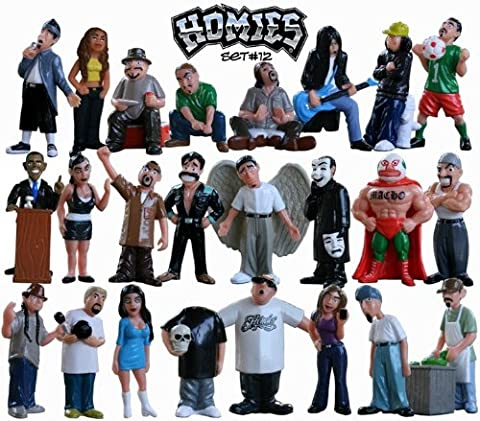 Homies Series 12 - All 24 Figurines by Hoppin Hydros