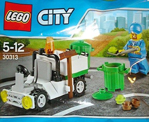 LEGO City Müll Lkw Mini Set #30313 [eingetütet] von - 30313 Lego