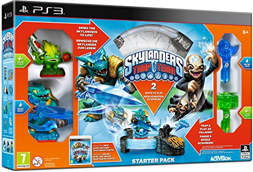 Activision Skylanders Trap Team + Starter Pack Spielekonsole, Spielfigur - Figuren Ps3 Skylanders