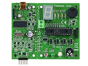 Kit programmateur de PIC sur port USB et tutoriel Velleman EDU10