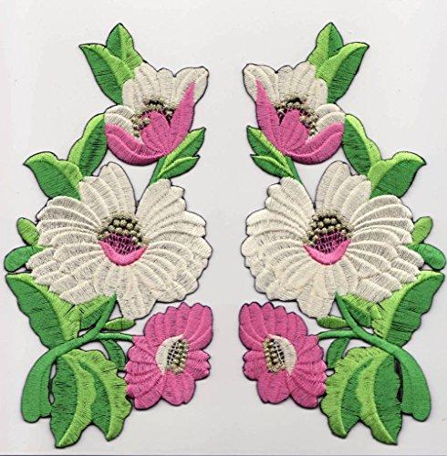 Toppe toppa patch termoadesive fiore fiori termoadesivi