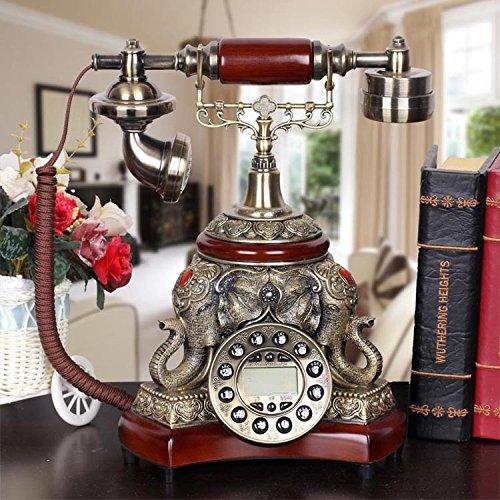 Europäische Antike Telefone Kreatives Klassisches Retro Telefon Festnetztelefonhaushalt örtlich Festgelegt (Art: Druckknopf)