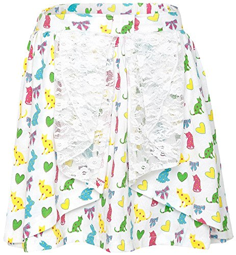 FS Mini Klub Girls' Regular Fit Skirt (88TGBSK0608 WHITE 1_3 - 4 Years, White, 3 - 4 Years)  available at amazon for Rs.224