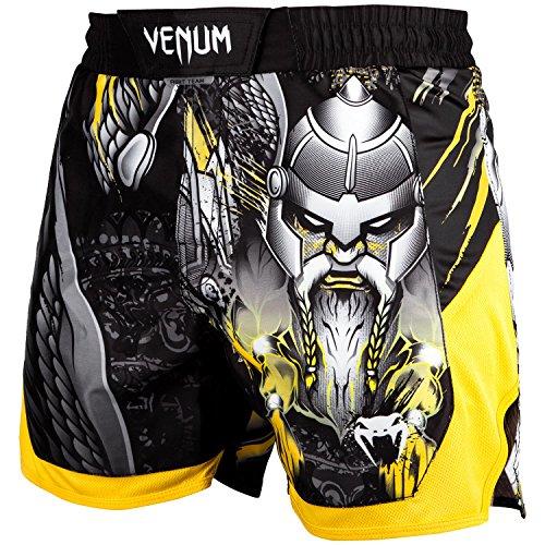 premium selection 2745f 1396a Venum Viking 2.0, Pantaloncini di Allenamento Uomo, Nero Giallo, M