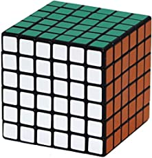 AdiChai Stickered Multi Coloured 6 by 6 Cube Experience New Rotation - 6x6 , 6 X 6 Cube , 6 by 6 Cube
