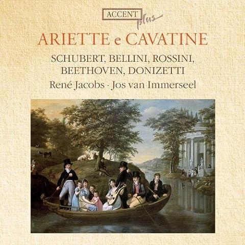 Ariette e Cavatine by Rene Jacobs (2010-04-15)