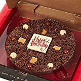 7' Happy Birthday Chocolate Pizza
