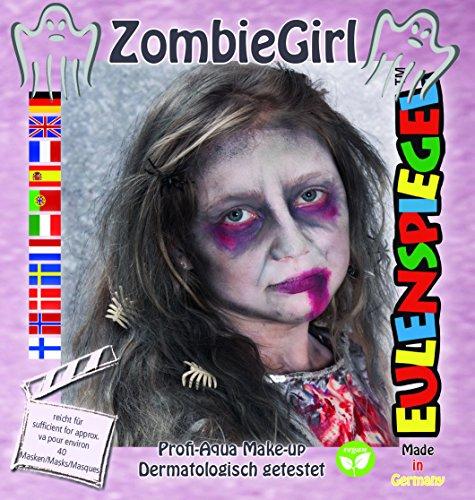 Eulenspiegel Motiv Set Zombie (Girl Zombie)