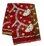 PEEGLI Weinlese Indische Frauenverpackung Dupatta