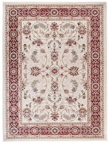 Tapis Conforama Rouge - Petit Tapis d'Orient - ROUGE BLANC -