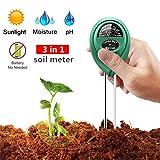 3-in-1 Bodentester Bodenmessgerät für Pflanzen