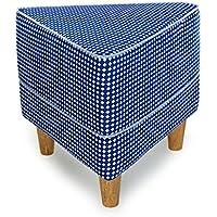 Preisvergleich für YYdy-Polsterhocker Einen Schuhhocker Stoff Sofa Hocker wechseln den Schuhhocker Europäische Massivholz Füße Kurze Hocker Sit Pier einfache Moderne Hocker Stuhl (Farbe : C)