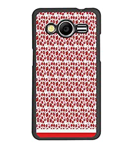 PrintDhaba Pattern D-1767 Back Case Cover for SAMSUNG GALAXY CORE 2 G355H (Multi-Coloured)