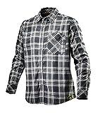 Flanellhemd SHIRT CHECK von DIADORA, Arbeitshemd mit Karomuster schwarz XL
