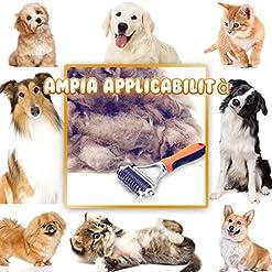 accessori animali cani e gatti Spazzola punta Rimuovi Peli per aspirapolvere