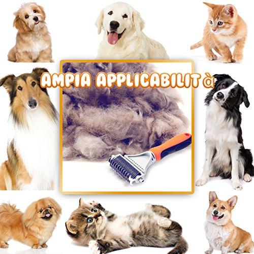 Zoom IMG-1 topelek spazzola per animali domestici