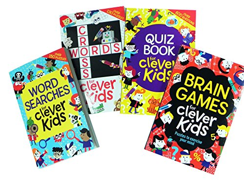 Clever Kids Puzzle Books pack