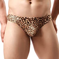 sandbank Men's Sexy Lingerie Bulge Pouch Bikini Thong G-String Underwear Panties