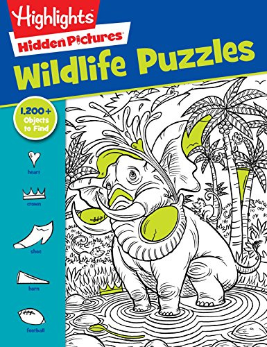 Highlights Favorite Hidden Pictures® Wildlife Puzzles (Hidden Picture Puzzles)