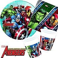 Avengers Team Power Superhelden Party Hüte 6 Stück Kindergeburtstag Mottoparty