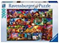 Ravensburger Travel Shelves, 2000pc Jigsaw puzzle - low-cost UK light shop.
