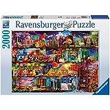 Ravensburger - 16685 - Puzzle Classique - Le Monde des Livres - 2000 Pièves
