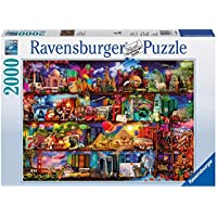 Ravensburger Travel Shelves, 2000pc Jigsaw puzzle