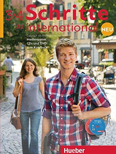 Schritte International. Deutsch als Fremdsprache. Per le Scuole superiori. Con 6 CD Audio. Con DVD: Kursbuch: SCHRITTE INT.NEU 3+4 Medienpak.(CD+DVD) (SCHRINTNEU) por Daniela Niebisch