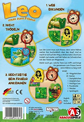 ABACUSSPIELE-04161-LEO-muss-zum-Friseur