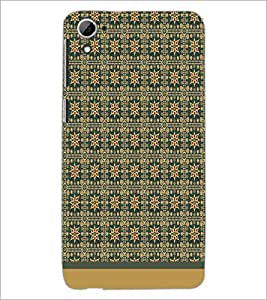 PrintDhaba Pattern D-1589 Back Case Cover for HTC DESIRE 826 (Multi-Coloured)