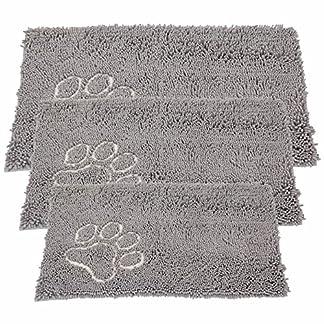 Bunty Soft Microfibre Pet Dog Puppy Cat Mat Bed Doormat Absorbant Muddy Wet Paws - X-Small - 46.5cm x 31cm 13