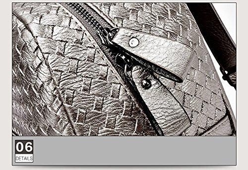 VOLSGEAT Borsa Messenger, L_Grey (grigio) - 896F Grey