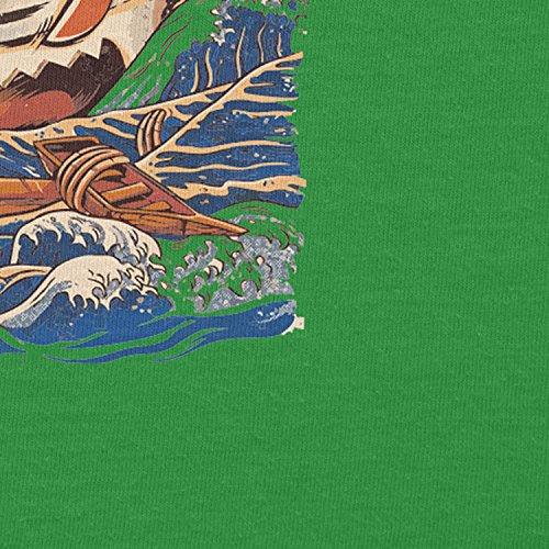 NERDO - The Great Ramen - Herren T-Shirt Grün