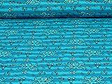 Fitzibiz Jersey Bluebeard von Hilco, krake, blau (Meterware