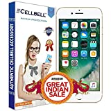 Iphone 6 Best Deals - Cellbell BTMBAG1003 Premium Tempered Glass Screen Protector for Apple Iphone 6 6s (4.7 inch ONLY)[3D Touch Compatible- Tempered Glass] 0.2mm Screen Case Protection 99% Touch Accurate Fit(Clear)(Comes with Warranty)Complimentary Prep cloth
