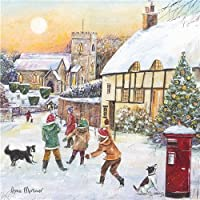 Charity Christmas Cards - Playing in The Snow