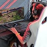 GHB Sades SA-901 7.1CH Surround Sound Stereo Headset PC Gaming Kopfhörer mit USB-Stecker und Mikrofon Rot+Schwarz - 8