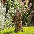 Sue Ryder Figurine pour d�coration de jardin en r�sine effet bois en forme d'homme de la for�t Petit format