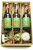 Bier Geschenk Präsentkarton mit Bier und Pokal 83. Geburtstag