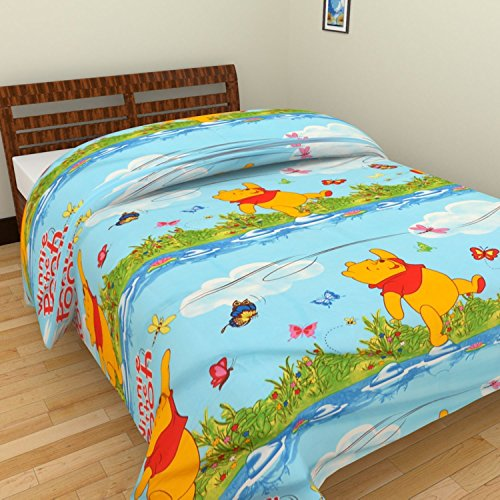 First Decor Cotton Single Bed AC BlanketDohar - Multicolor