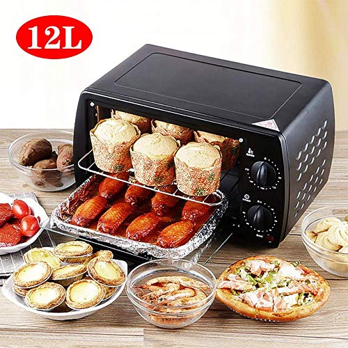HIGHKAS 12L Mini Elektrobackofen Heim Pizzaofen Backenwerkzeuge Für Kuchen Hühnerflügel Temperaturregelung Timing, - Dem Aus Gerichte Pizzaofen